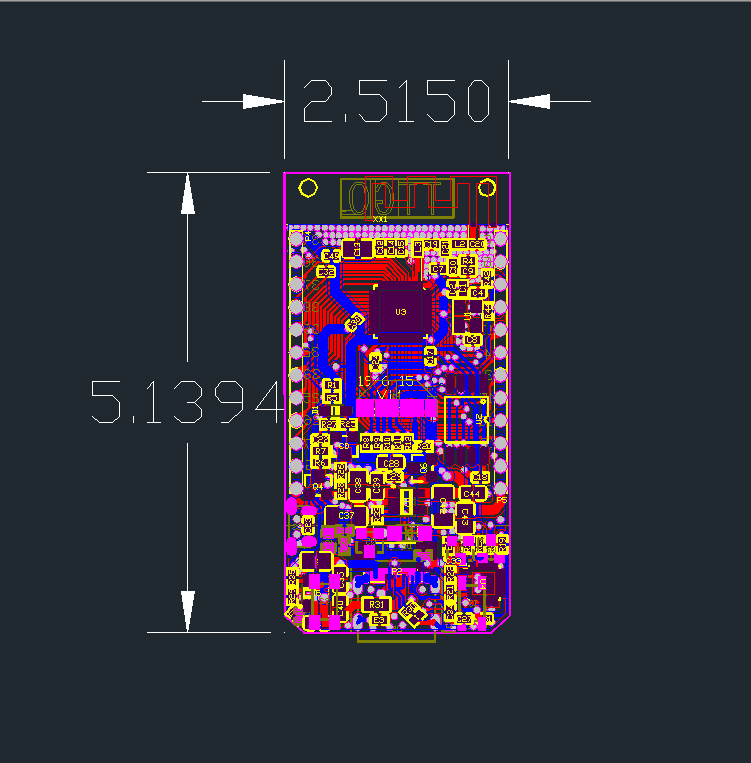 TTGO T-Display ESP32WiFi模組(16MB)規格圖